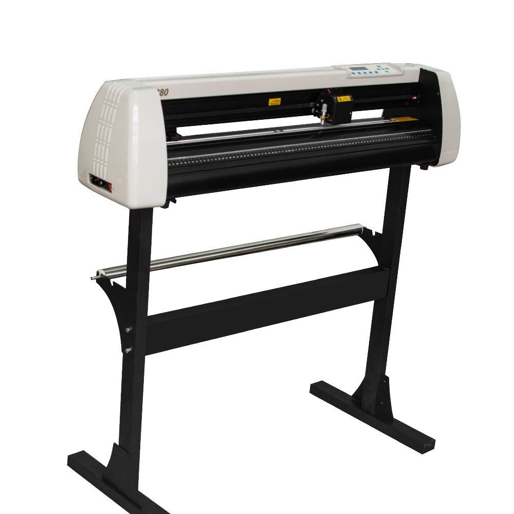 ixaer Vinyl Cutter Plotter Machine Vinyl Printer Cutter Machine LCD Display, Shipping from USA by ixaer (Image #1)