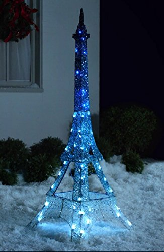 Christmas Glimmer Lightshow LED Eiffel Tower - Decor Tower Eiffel Christmas