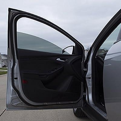 "GILA 50146369 5% Static Cling Plus Limo Black 24""x6.5' Window Tint: Automotive"