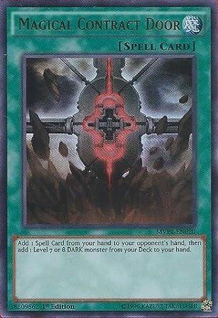 3x Magical Contract Door 1st Edition Secret Rare MVP1-ENS20 Yu-Gi-Oh!