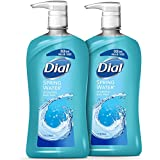 Dial Body Wash, Spring Water, 32 Ounces (Pack of 2)