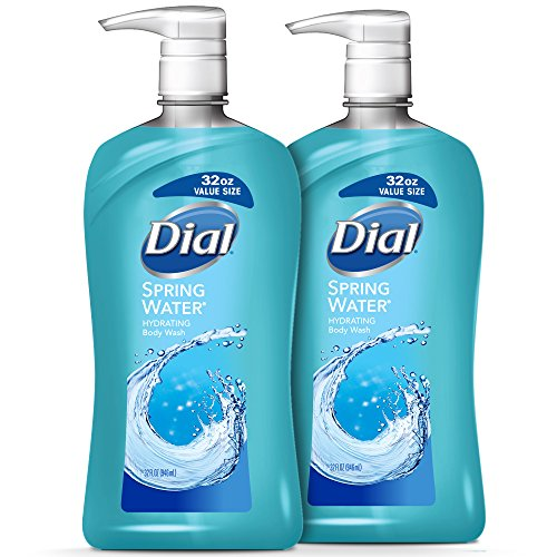 (Dial Body Wash, Spring Water, 32 Ounces (Pack of 2))