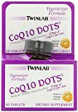 Cheap Twinlab CoQ10 Dots, Natural Orange Flavor, 60 Count Tablets