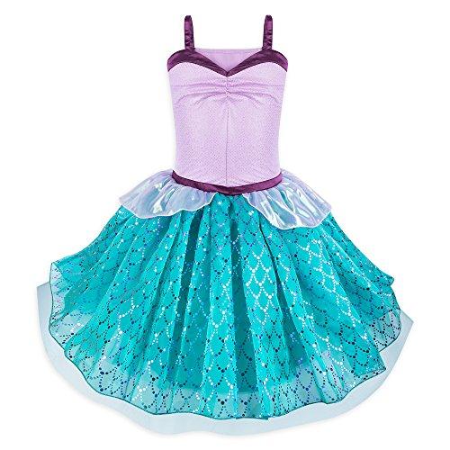 Disney Ariel Tutu Costume Dress for Juniors - The Little Mermaid Size L Multi ()