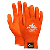 Memphis Glove Small 13 Gauge Kevlar Cut Resistant Gloves With Foam Nitrile Coated Palm And Fingertips - Pack of 12