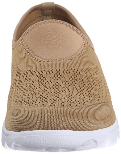 Propét Womens Travelactiv Slip-on Fashion Sneaker Honey