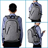 XQXA Laptop Backpack,College School Bag with USB