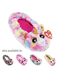 TY Beanie Boos Kids Girls Plush Animal Toy Non Skid Slipper Socks (See More Designs Colors and Sizes)