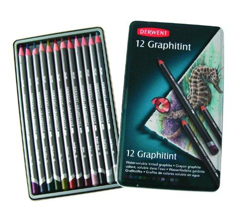 Derwent Graphitint Pencils Metal 0700802