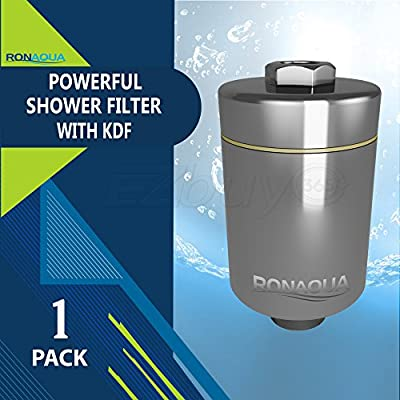 Universal Shower Filter with Replaceable 6-Stage Filter Cartridge - Removes Chlorine and Hard Water, Makes Skin And Hair Soft!!!