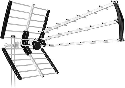 Tecatel - Antena BKM Triple Plegable, UHF G=18 dB LTE 700 ...