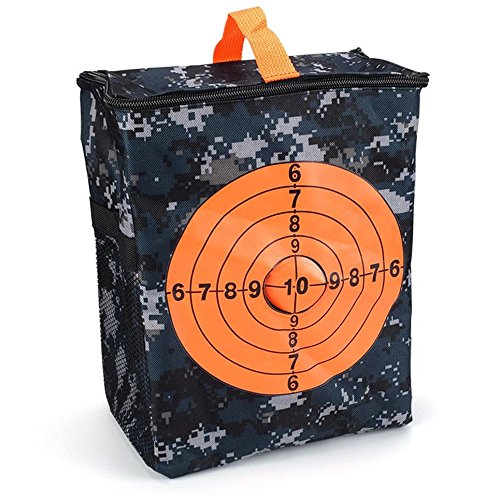 Target Pouch Storage Carry Equipment Bag, Mitsutomi Especially for Nerf N-strike Elite / Mega / Rival Series (Multi)