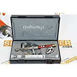 Harder & Steenbeck Infinity CR Plus 2in1 Airbrush 0.15 + 0.2mm nozzle sets. SPECIAL by SprayGunner