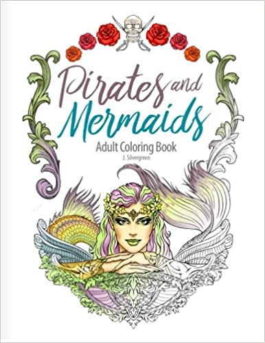 780+ Pirates And Mermaids Coloring Book Free Images