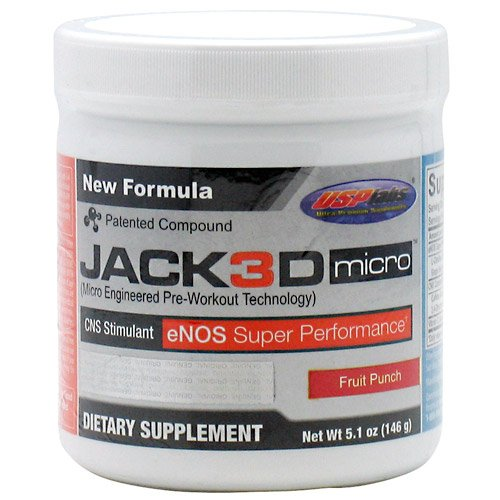 USP Labs Jack3d Micro Fruit Punch - 40 doses