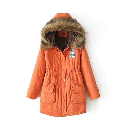 mewow Women's Winter Thick Warm Faux Berber Fleeced Fur Jack
