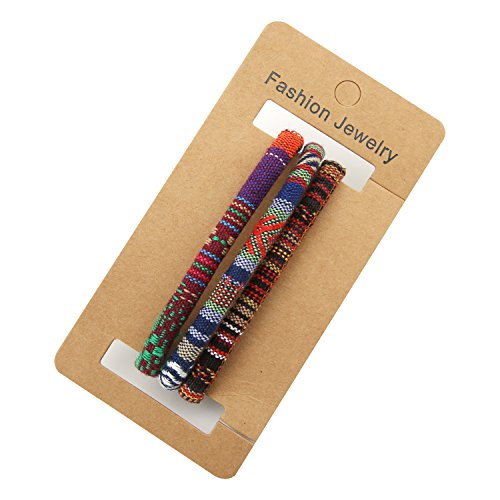 HZMAN Mix 6 Wrap Bracelets Men Women, Hemp Cords Ethnic Tribal Bracelets Wristbands (Mix 6 Wrap) by HZMAN (Image #5)