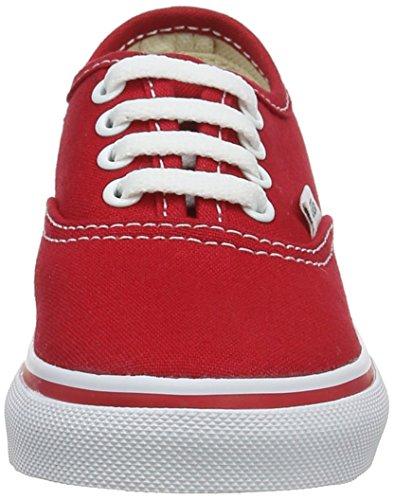 Vans Authentic, Zapatillas Unisex Bebé Rojo (Red)