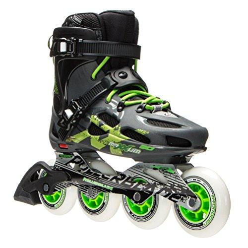 銛ガチョウ操るRollerblade Maxxum 90 Urban Inline Skates 2016 12 (M) US 07628300-096
