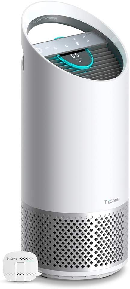 Leitz TruSens Z-2000 Purificador Sistema de Control de la Calidad del Aire SensorPod, Habitaciones Medianas, Blanco, M