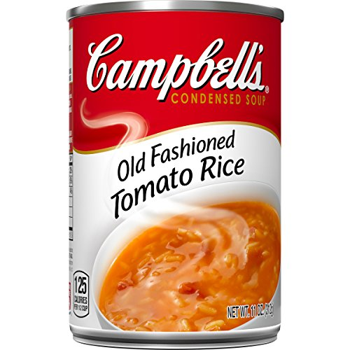 Campbell's Condensed Old-Fashioned Tomato Rice Soup, 11 oz. Can (Pack of 12) ()