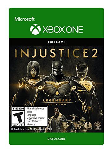 Injustice 2: Legendary Edition - Xbox One [Digital Code] by Warner Brothers