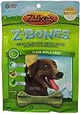 Zuke's Z-Bones Edible Grain-Free Dental Chews, Clean Apple Crisp, Regular 12-Ounce