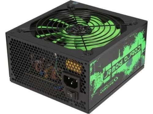 Raidmax ATX 500 Power Supply RX-500AF-B by Raidmax