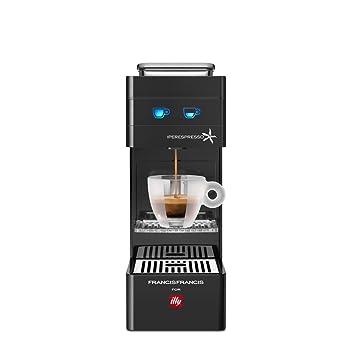 illycaffè Y3 Iperpresso - Máquina de café en cápsulas, color negro