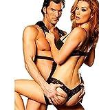 Myronsen Hot New Love Sm Hanging Swing Sling Couple Massagers Game Fantasy Fun Toys Set