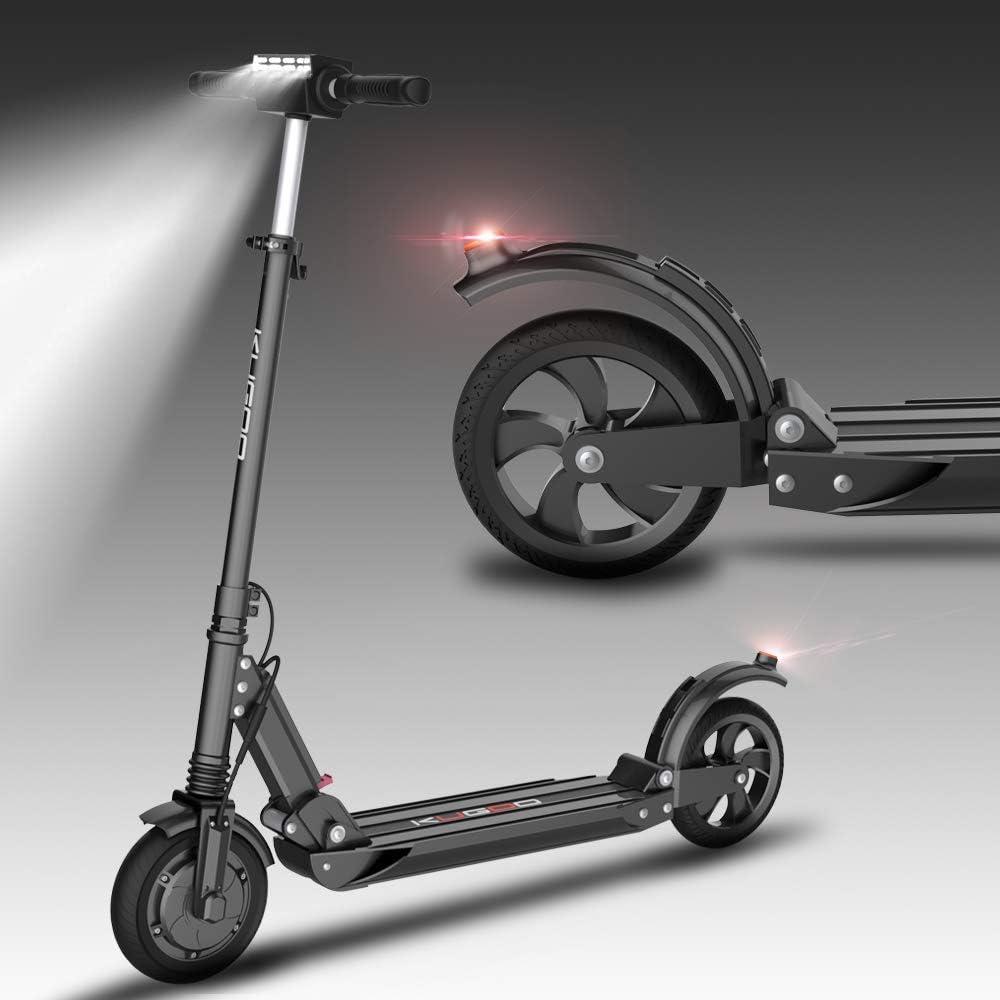 Freego Scooter eléctrico para Adultos, Potente Motor de 350 vatios, batería de Largo Alcance de 28 km, neumático sólido de 8 Pulgadas,Desplazamiento rápido, Scooter E Ligero para Adolescentes