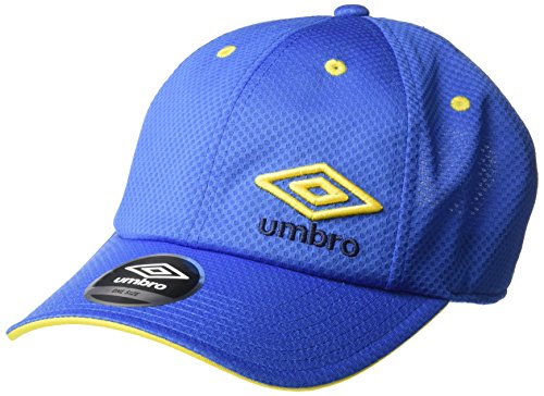 Umbro Player Slouch Adjustable Cap, Tw Royal/Sun Yellow, One Size ()