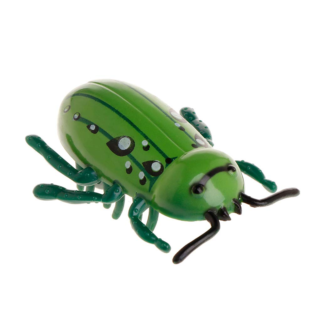 Divertidos Juguetes para Gatos Verde Juguetes para Gatos MiSha Juguetes el/éctricos de Insectos m/óviles