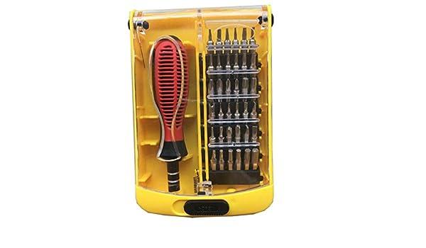 MTTLS Juegos de destornilladores 37 en 1 Juego de herramientas de reparación de precisión multiusos Computadora, electrodomésticos, reparación de bicicletas ...