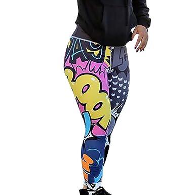 Modaworld _Leggins Mujer Yoga Mallas Deportivo Leggings de ...