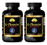 enhancement all natural - L-Theanine 200MG - energy booster pills - 2 Bottles (120 Capsules)