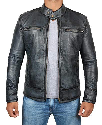 ck Leather Jacket Men | New Garcia, L ()