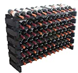 Stackable Modular Wine Rack Storage Stand Display