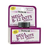 Cheap Twinlab Mega B-12 Dots – 5000 mcg – 30 Tablets
