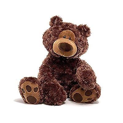 GUND Philbin Teddy Bear Stuffed Animal Plush, Chocolate Brown