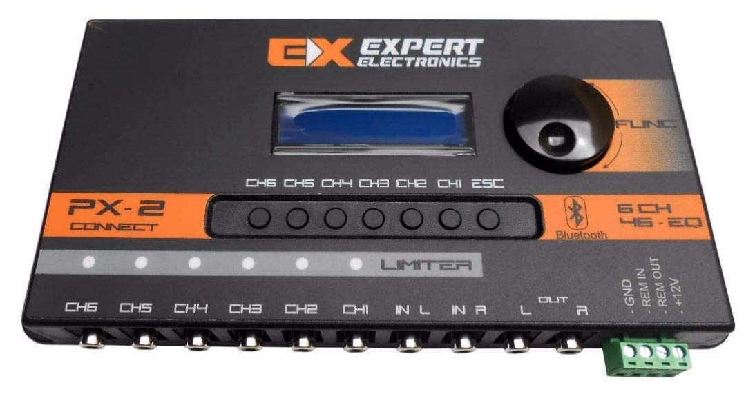 Banda Expert Electronics PX2 Connect 6 Way, Equalizer 46 Band Sound Processor by Expert Eletronics