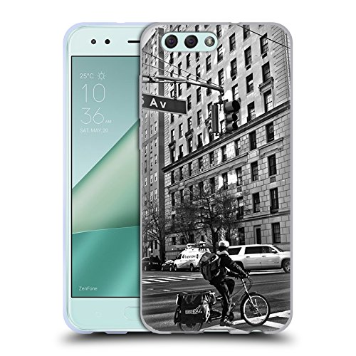 Official Haroulita 5th Avenue, NY Places 2 Soft Gel Case for Zenfone 4 - 5th Place Ave