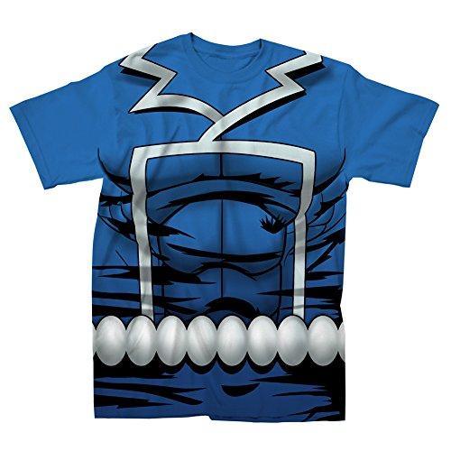 Marvel+Comics+Retro+Shirt Products : I Am Retro Ghost Rider Marvel Comics Mighty Fine Adult Costume T-Shirt Tee