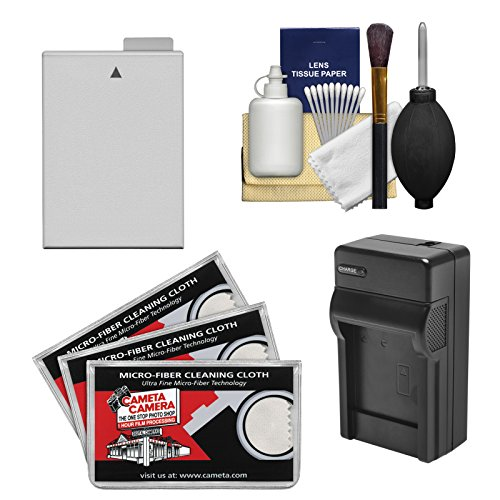 Essentials Bundle for Canon EOS Rebel T4i & T5i DSLR Camera with LP-E8 Battery & Charger + Cleaning Kit
