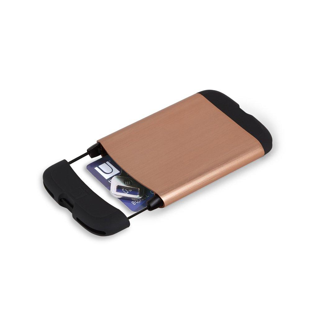 Metallic Copper Umbra Bungee Card Case