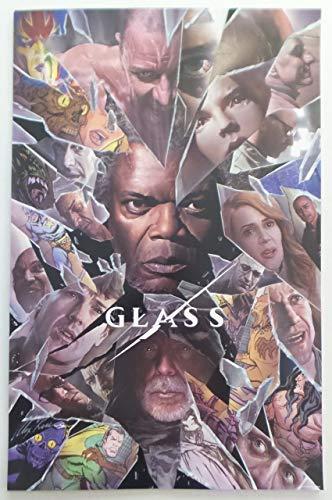 "GLASS - 11""x17"" Original Promo Movie Poster SDCC 2018 Alex Ross Bruce Willis Samuel L. Jackson"