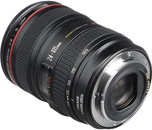 Canon EF 24-105mm f/4 L IS USM Lens for Canon EOS SLR Cameras – White Box (Bulk Packaging) 51iaoOyUrqL