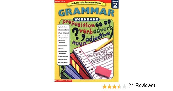 Amazon.com: Scholastic Success With: Grammar Workbook: Grade 2 ...