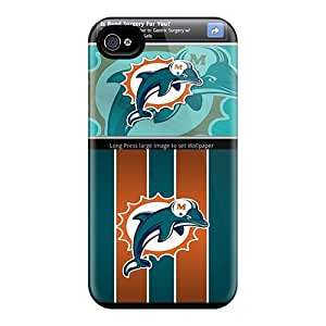 For Iphone 6 Fashion Design Miami Dolphins Cases-ssV11331ZXNF