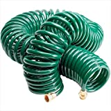 75 coil hose - TekSupply 103168 ValuTek MultiPurpose 0.37 in Coil Hose 75 ft